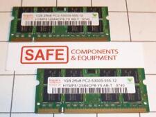 2GB (1GBx2) SODIMM Hynix HYMP512S64CP8-Y5 AB T DDR2 667MHz PC2-5300 200p MM-079