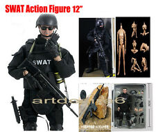 """2015 Military Combat 12"""" 1/6 Toy Police SWAT Action Figure Soldier Dolls Suit"""