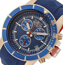 PRE-OWNED Invicta Men's Pro-Diver Chronograph Polyurethane Watch 11749BRB DEFECT