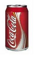 COCA COLA COKE CAN ELECTRIC WAVE LAMP LIGHT  NEW!