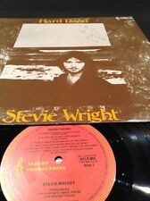 APLP 005 STEVIE WRIGHT HAND SIGNED HARD ROAD LP EASYBEATS EVIE ALBERT PRODUCTION