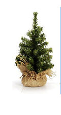 "Darice Artificial Tabletop Tree – Christmas Pine Non-Lit Burlap Base 6"" #RC6528"