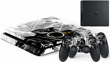 ps4 slim skin decal sticker call of duty skull music riper #1 usa flag punisher