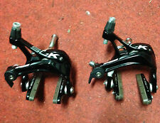 Coppia freni bici corsa FSA SL-K neri road bike brake black
