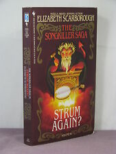 1st,signed by author,Songkiller 3:Strum Again? by Elizabeth Ann Scarborough(1992