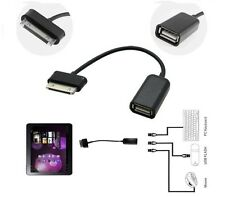 Para Samsung Galaxy Tab 2 10.1 8.9 Tablet Pc De 30 Pines A Hembra Usb Host Otg Cable