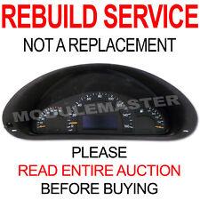 01 02 03 04 05 Mercedes C230 C240 C320 W203 Instrument Cluster REBUILD REPAIR