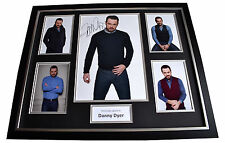 Danny Dyer SIGNED FRAMED Photo Autograph Huge display Eastenders TV AFTAL & COA