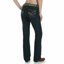 Wrangler Q-Baby Cowgirl Cut WRQ20GN Riding Stretch Jeans - Size 1/2 =Aus 6