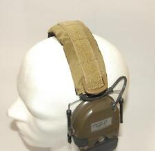Cover Headset Hearing Protection Pad Peltor ComTac MSA Sordin Khaki Dark Tan