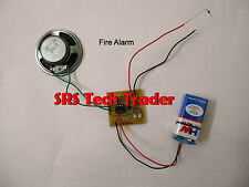 004 School Collage Project Electronic kit Fire Alarm