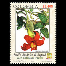 Colombia 2005 - 50th Anniv of Botanical Gardens Flora Flowers - MNH