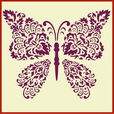 DAMASK BUTTERFLY STENCIL - NEW! - The Artful Stencil