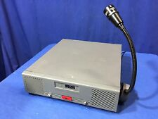 Motorola Dispatch RADIO BASE STATION Centracom Gold Series Shure VR300 Mic Right