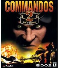 Commandos 2 Men of Courage  Tactical Action Strategy PC Game  Brand New 3 CD set
