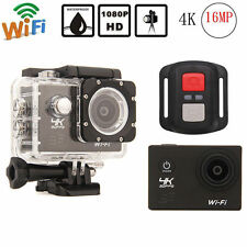"2.0"" 4K 1080P FHD WIFI SJ8000R Helmet Sports Camera Action Cam DVR Waterproof"