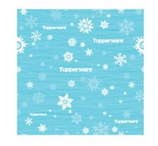 Two Tupperware Holiday Wrapping Paper Logo Award Christmas Design New