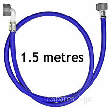 Universal 1.5M Cold Water Dishwasher Fill Hose Blue Inlet Feed Pipe 1.5 Metre