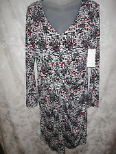 Karen Kane NORTHERN TRAIL TIFFANY long sleeve dress style 4L22130 new $118 large