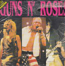 SERIE TOP MUSIC -  GUNS N' ROSES - LO VECCHIO EDITORIALE -  Libro + Poster