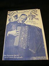 Partition Valse des gueux Java de la cloche Jean Raymond Baltel  Music Sheet