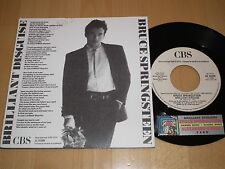 "Bruce Springsteen 7"" - Brilliant Disguise - Extremely Rare  Italy promo PS 45"