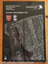 2011 CARLING CUP FINAL *(ARSENAL V BIRMINGHAM CITY)* (27/02/2007)
