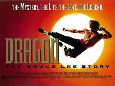 Dragon The Bruce Lee Story movie poster flyer - 12 x 16 inches