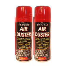 2 Pack Air Duster Gadget Cleaner Cleans Keyboards Laptops Phones Printers Fax