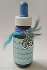 AUSTRALIAN Crystal & Vibrational Cleanser Flower Essence - Wicca Pagan Witch
