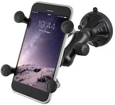 RAM Twist Lock Suction Cup Car X-Grip Mount for iPhone 6 5 4 and Cell Phones