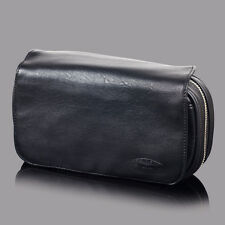 NEW Black Tobacco Pouch Pipe Pocket Pipe Tool Pocket For 3 Pipes