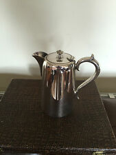 LOVELY HOTEL WARE SILVER PLATED COFFEE/WATER POT 1 PINT CAPACITY (CP 2332}
