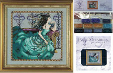 MIRABILIA Cross Stitch PATTERN and EMBELLISHMENT PACK Cassiopeia MD131