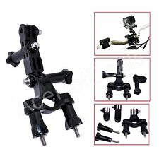 Bike Motorcycle Handlebar Seatpost Pole Mount Holder for Gopro Hero 4/3+/3/2/1