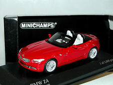 Minichamps 431028131, BMW Z4 (E89) Roadster, 2008, red, 1/43 OVP