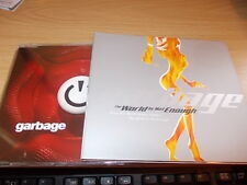 GARBAGE PUSH IT WORLD IS NOT ENOUGH CD SINGLES