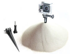 Spike hareng Mount F. gopro go pro HD HERO 3,3+ accessoire d'ancrage sol Adaptateur Broche