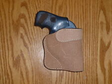 TAN-Molded Pocket Holster-Small Revolver J Smith and Wesson, Colt, LCR, Taurus