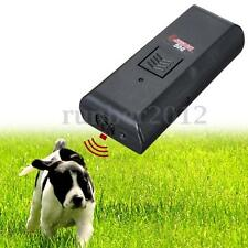 Ultrasonic Aggressive DOG Pet REPELLER TRAINING AID FOR DOGS STOP BARKING Black