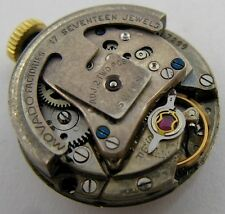 used Lady Movado 165 17 j. 2 adj. automatic watch movement for parts ...