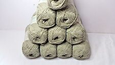 10 Balls Sirdar Simply Recycled Cotton Knitting Wool Yarn lot 42  FREE POST