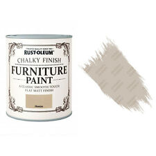 Rust-Oleum Chalk Chalky Furniture Paint Chic Shabby 750ml Hessian Matt