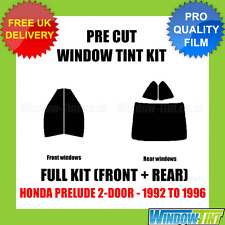 HONDA PRELUDE 2-DOOR 1992-1996 FULL PRE CUT WINDOW TINT KIT