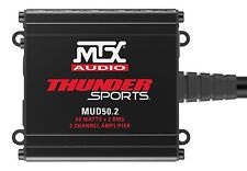 MTX MUD50.2 200W Max 2 Channel Class D Power Sports Amplifier