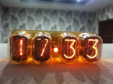 4xIN-12 Nixie Tubes Clock retro watch