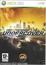 NEED FOR SPEED UNDERCOVER for Xbox 360 - with box & manual - PAL