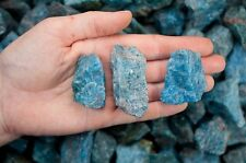 1 Pound of Apatite Mine Run Rough from Madagascar - Cabbing, Tumble Rocks, Reiki