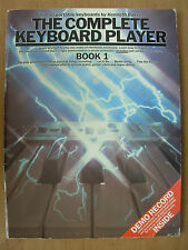 The complete keyboard player book 1 by kenneth baker
