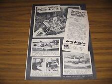1952 Print Ad Scott-Atwater Shift Outboard Motors Minneapolis,MN